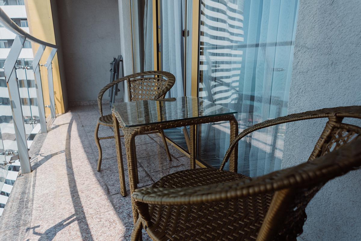 балкон кресло