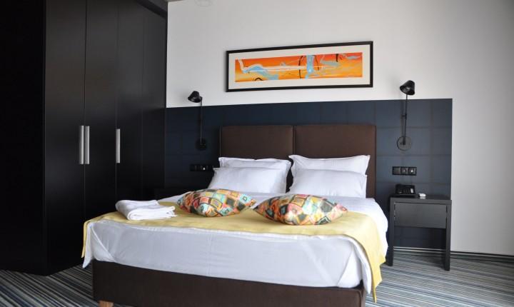 tangerine apart hotel room standart sea view